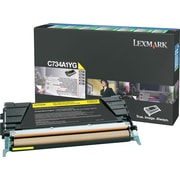 Lexmark Yellow Toner Cartridge (C734A1YG), Return Program