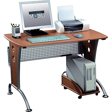 Techni Mobili Computer Desk, Dark Honey (RTA-8338)