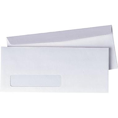 Quality Park – Enveloppes blanches avec fenêtre Preserve n° 10, 4 1/8 po x 9 1/2 po, bte/1000 - avec colle