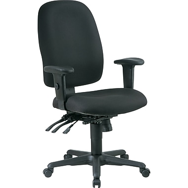 Office Star Fabric High Back Multi Function Ergonomic Task Chairs
