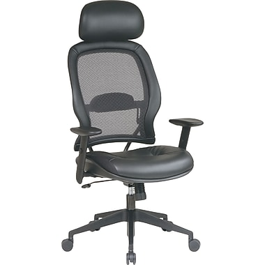 SPACE 57906 Executive Chair, Black