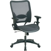SPACE® Air Grid™ Professional Ergonomic Chair, Black