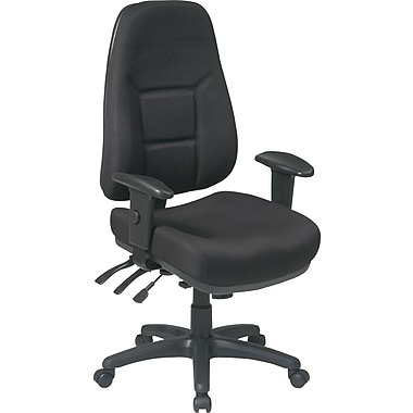 Office Star™ Super-Ergonomic High-Back Fabric Task Chairs