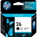 HP 26 Black Ink Cartridge (51626A)