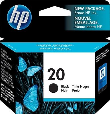 HP 20 Black Ink Cartridge C6614DN