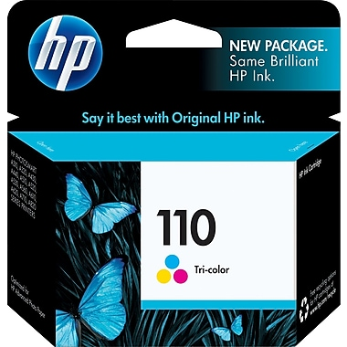 HP 110 Tricolor Ink Cartridge (CB304AN)