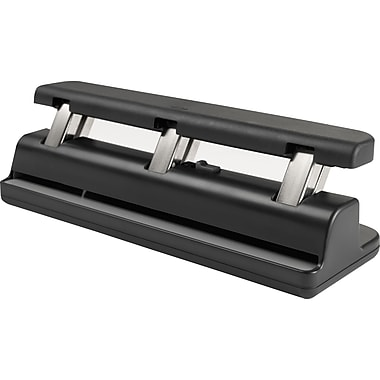 Staples® Premium Hole Punch, Smooth Grip