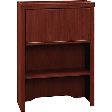 Bush Business Enterprise 30W Lateral File Hutch, Harvest Cherry, Installed