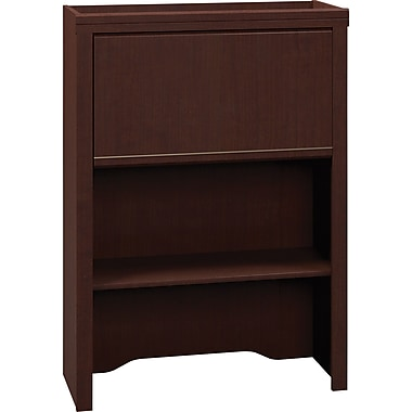 Bush Business Enterprise 30W Lateral File Hutch, Mocha Cherry