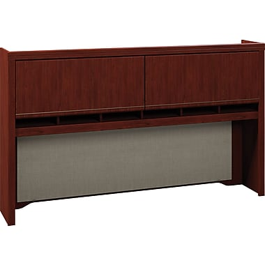 Bush Enterprise 72in. Hutch, Harvest Cherry, Fully Assembled