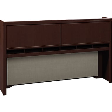 Bush Enterprise 72in. Hutch, Mocha Cherry