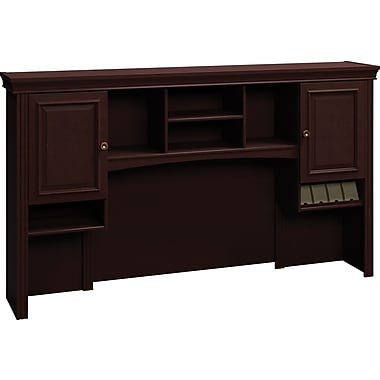 Bush® Syndicate 72in. Hutch, Mocha Cherry