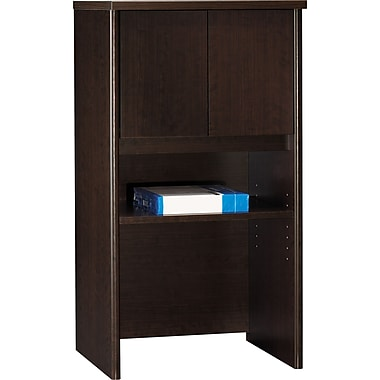 Bush Westfield 24in. Storage Hutch, Mocha Cherry