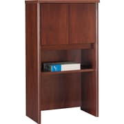 Bush Westfield 24 Storage Hutch, Hansen Cherry/Graphite Gray