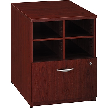 Bush Westfield 24in. Storage Cabinet, Cherry Mahogany