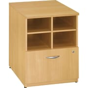 Bush Westfield 24 Storage Cabinet, Danish Oak, Fully assembled