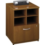 Bush Westfield 24 Storage Cabinet, Cafe Oak, Fully assembled