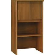 Bush Westfield 24 Storage Hutch, Cafe Oak, Fully assembled