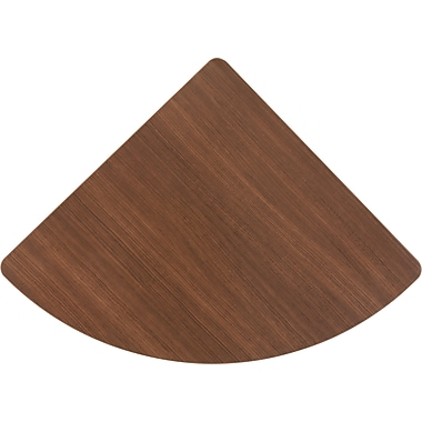 Bush Cubix Corner Connector, Cappuccino Cherry/Hazelnut Brown