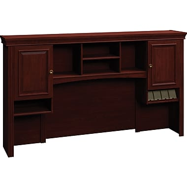 Bush® Syndicate 72in. Hutch, Harvest Cherry