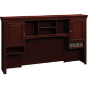 Bush® Syndicate 72 Hutch, Harvest Cherry, Fully Assembled