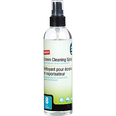Staples® Screen Cleaning Fluid, 8 oz