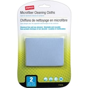 Staples Microfiber Cloths 2/pk
