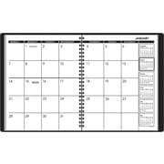 2013 AT-A-GLANCE® Recycled Monthly Classic Planner, 6 -7/8 x 8-3/4