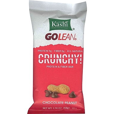 Kashi GOLEAN® Crunchy Chocolate Peanut Health Bars, 1.76 oz. Bars, 12 Bars/Box
