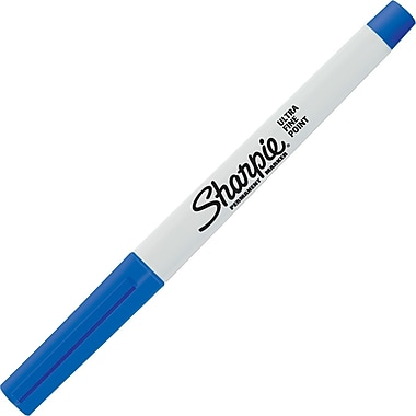 Sharpie® Ultra Fine Point Permanent Marker, Blue, Each