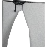 Perf-Ect™ Desk and Partition Double Coat Hook