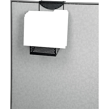 Fellowes Perf-Ect Cubicle File Pockets, Black, Each (22316)