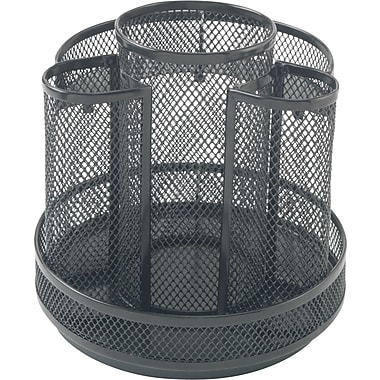 Staples Mesh Rotary Organizer, 8-Compartments