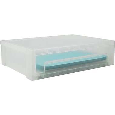 Large Clear Stacking Drawer
