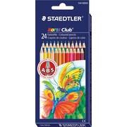 Staedtler® – Crayons de couleur Noris Club ABS, couleurs variées, paq./24