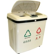 iTouchless Fully Automatic 2-Compartment Recycle Touchless Trash Can® NX 16 gal.