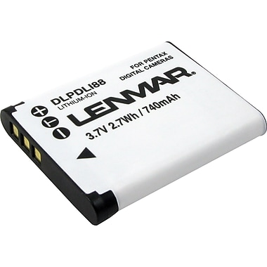 Lenmar Replacement Battery For Pentax Digital Cameras and Sanyo Camcorders