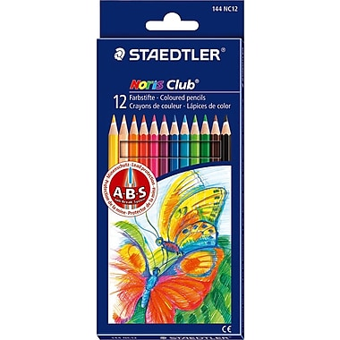 Staedtler® Noris Colored Pencils, Assorted Colors, 12/Pack