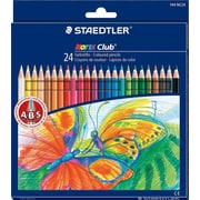 Staedtler® Noris Colored Pencils, Assorted Colors, 24/Pack