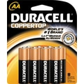Duracell AA Alkaline Batteries, 8/Pack