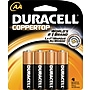 Duracell Aa Alkaline Batteries, 4/pack