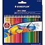 Staedtler Noris Watercolor Pencils, Assorted Colors, 24/box