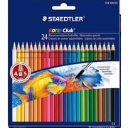 Staedtler® Noris Watercolor Pencils, Assorted Colors, 24/Box