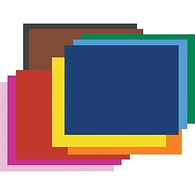 Pacon® 4-Ply Colored Poster Board, 25/Pack
