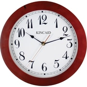 Kincaid ®11 1/2 Round Wall Clock, Cherry Finish