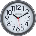 Kincaid® 8.5in. Round Wall Clock, Black