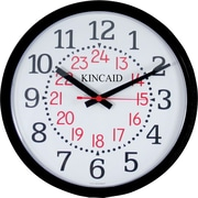 Kincaid® 14 Round Wall Clock, Black