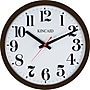 Kincaid® 14 Electric Wall Clock, Brown