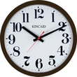 Kincaid® 14in. Electric Wall Clock, Brown