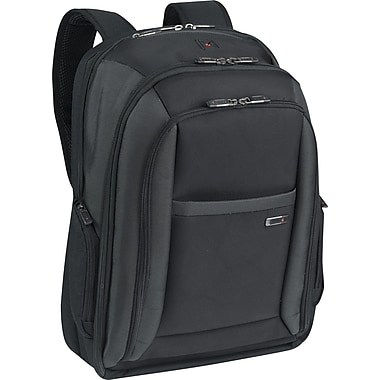SOLO® Classic Collection Laptop Backpack, Black, 16in.